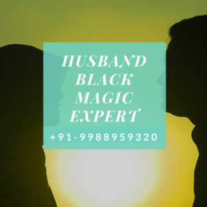 Husband Black magic expert
